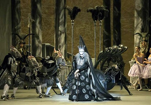 Massimo Murru in The Sleeping Beauty - photo by Brescia and Amisano, Teatro alla Scala 2015