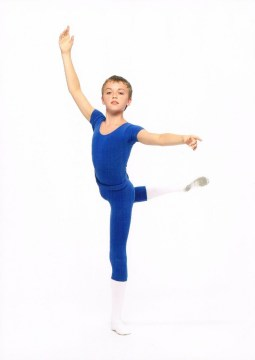 Matthew Ball during Year 8, The Royal Ballet School, aged 12