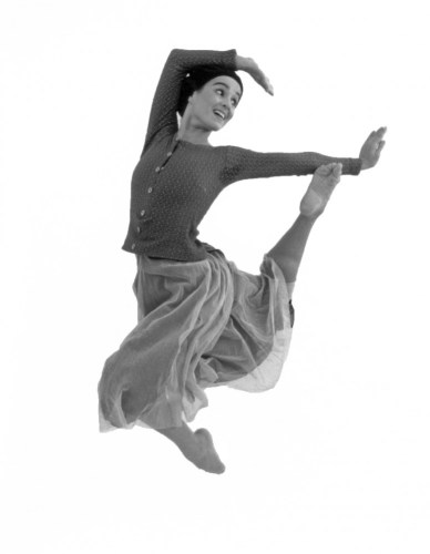 Pompea Santoro as Giselle... an image that was used on a Swedish postage stamp