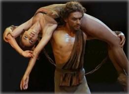 Spartacus with Maria Vinogradova and Ivan Vasiliev - photo Ekaterina Vladimirova