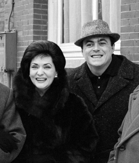 Virginia Zeani on tour with Luciano Pavarotti