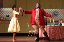 Falstaff - Nicola Alaimo (Sir John Falstaff), Eva Mei (Alice Ford) @ Marco Brescia & Rudy Amisano