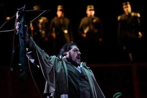 Nicola Alaimo as William Tell at Monte-Carlo Opera, 2015