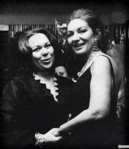 Renata Scotto with Maria Callas