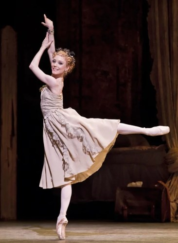 Sarah Lamb in Manon - photo by Johan Persson, Royal Opera House