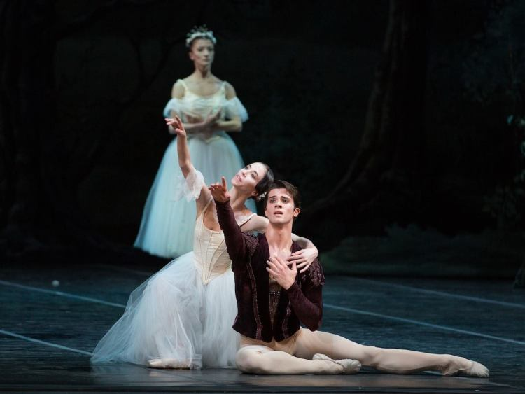 Rebecca Bianchi and Claudio Coviello in Giselle - photo by Yasuko Kageyama, Teatro dell'Opera di Roma