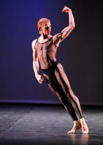 Two pieces for HET choreographed by Hans van Manen with Marijn Rademaker - photo Stuttgarter Ballet