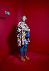 Grayson Perry by Richard Ansett - copyright, Commissioned for BBC Radio 4's Reith Lectures 2013 by Anna Lenihan, BBC Pictures