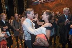 Luis Ortigoza with Anna Botafogo, Artistic Director of the Ballet de Rio de Janeiro