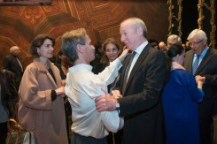 Luis Ortigoza with Frederic Chambert, General Director of the Teatro Municipal de Santiago