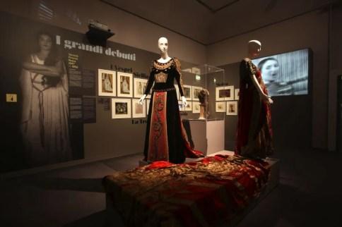 Maria Callas's costumes - photo by Davide Lolli