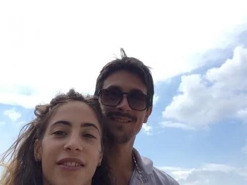 Rebecca with Alessandro