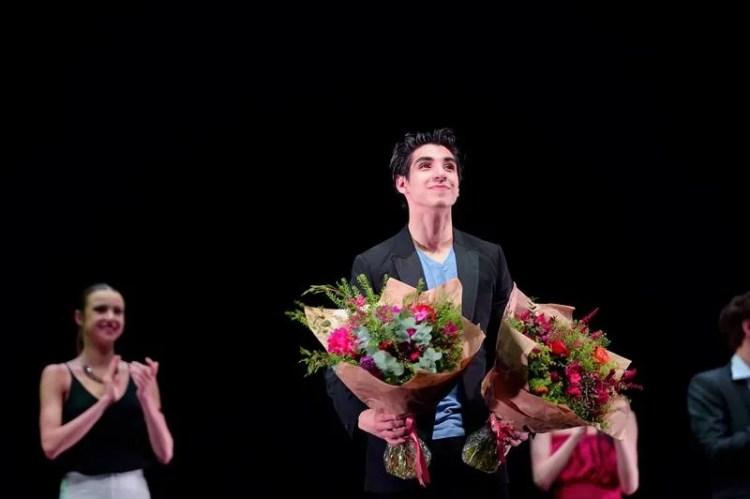 2016 Emerging Dancer Award winner, Cesar Corrales - photo by Laurent Liotardo
