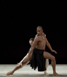 Eric Underwood and Edward Watson in Obsidian Tear ©ROH 2016. Photographed by Andrej Uspenski