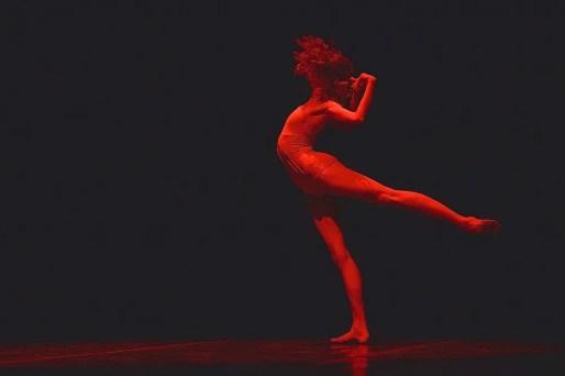 Jeanette Kakareka in Annabelle Lopez Ochoa's Requiem for a Rose - photo by Dasa Wharton