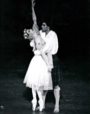 Paul Chalmer as James in La Sylphide with Birgit Keil - Stuttgart Ballet