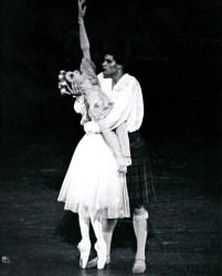 Paul Chalmer as James in La Sylphide with Birgit Keil - Stuttgart Ballet