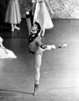 Paul Chalmer as Lensky in Onegin – Stuttgart Ballet