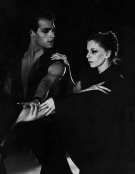 Paul Chalmer as Othello with Ghislaine Thesmar in Joseph Rusillo's Shakespeare Suite – Les Ballets de Monte-Carlo