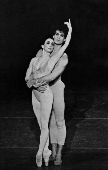 Paul Chalmer with Marcia Haydée in Initials RBME – Stuttgart Ballet