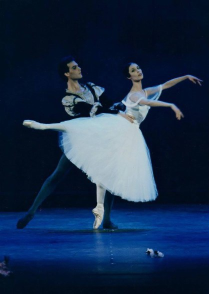Paul Chalmer with Susan Jaffe in Giselle - Arena di Verona