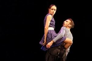 Alexandra Pera and Guido Sarno in Rain