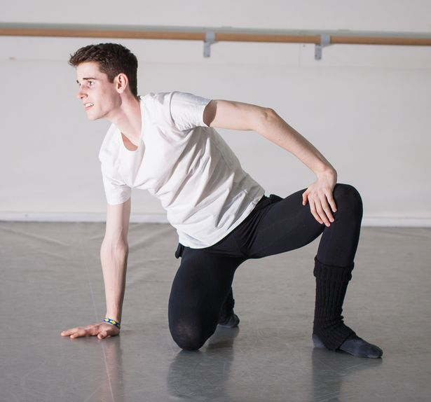 Gearóid Solan will perform with choreographer Lauren Speirs' in Studies In Red