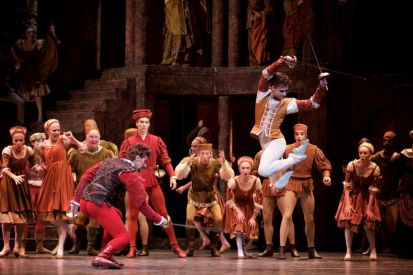 Romeo and Juliet with Gary Avis as Tybalt and Alexander Campbell as Mercutio - ©ROH, Alice Pennefather, 2015