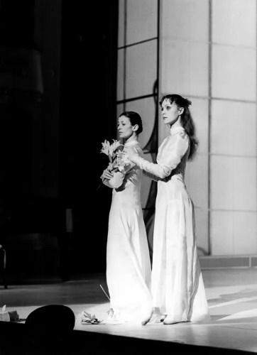 Aurora Benelli with Carla Fracci