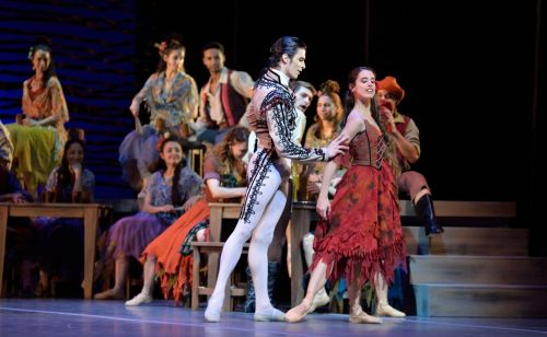 Ciro Mansilla and Maria Riccetto in Carmen - photo by Amalia Pedreiras, BNS | Ballet Nacional Sodre