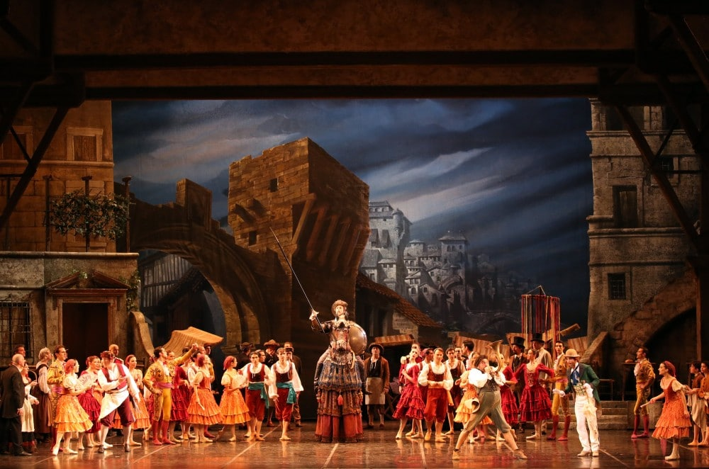 Don Quixote - photo by Brescia e Amisano - Teatro alla Scala