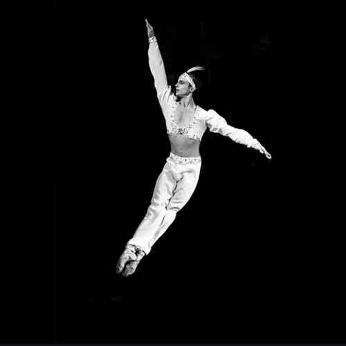 Andrey Ermakov as Solor in La Bayadere - photo by A. Gouliaev, Mariinsky, 2014-01