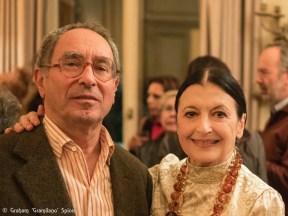 Carla Fracci with Tullio Pericoli