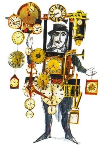 Design by Emanuele Luzzati for Drosselmeier in The Nutcracker