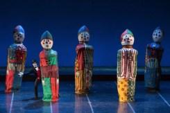 Riccardo Di Cosmo as Drosselmeier in The Nutcracker photo by Yasuko Kageyama, Opera di Roma 2014