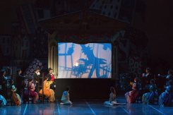 Shadow play in The Nutcracker photo by Yasuko Kageyama, Opera di Roma 2014