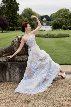 Lauren Cuthbertson in a Ralph & Russo dress for the Royal Ballet shoot for Town and Country 04