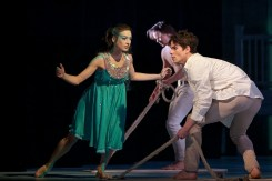 Magdalena Matejkova (Little Mermaid ) and Ondrej Vinklat ( Prince) in The Little Mermaid © Dasa Wharton