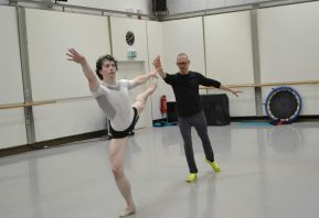 Creating with William Forsythe at Semperoper