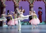 István Simon and Sarah Hay in The Nutcracker by Aaron Watkin, photo by Ian Whalen