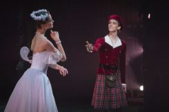 La Sylphide from the wings with Ella Persson and Julian MacKay, photo by Nicolai Krusser 2