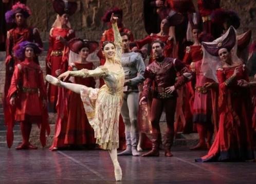 Martina Arduino as Juliet, photo Marco Brescia and Rudi Amisano Teatro alla Scala