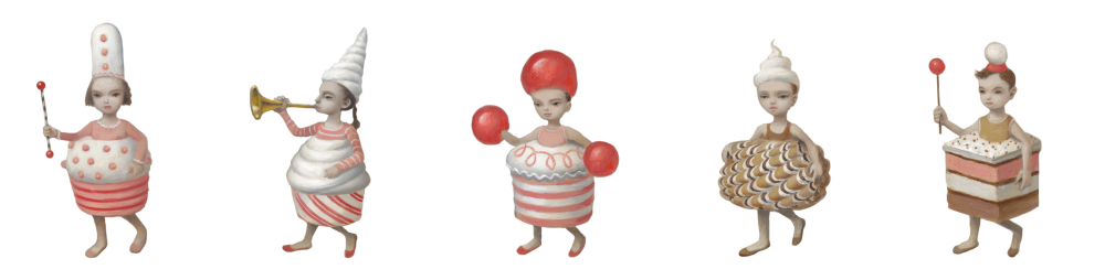 Whipped Cream sketches by Mark Ryden 2