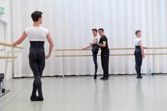 Classical training with Oliver Matz director of Tanz Akademie Zürich.