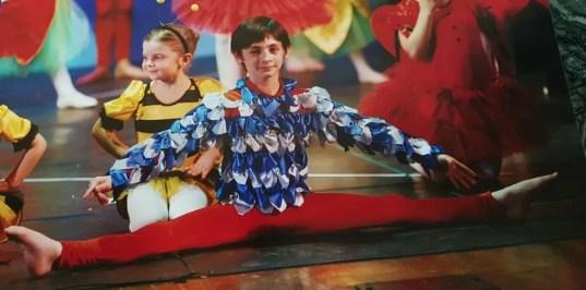 Growing up dancing