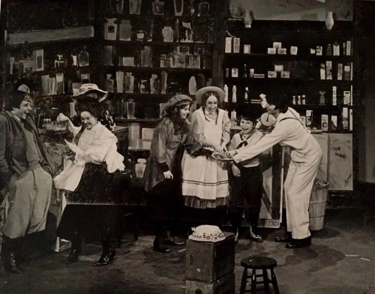 Bronx Opera's January 1974 production of Britten's Albert Herring,directed by Albert Takazauckas
