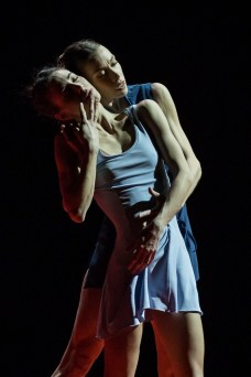 Eleonora Abbagnato and Rebecca Bianchi in Annonciation by Angelin Preljocaj, photo by R Yasuko Kageyama, Teatro dell'Opera, Rome 2