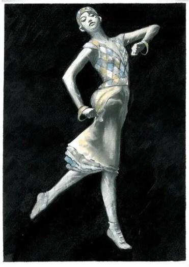 La Valse costume design by Irene Monti