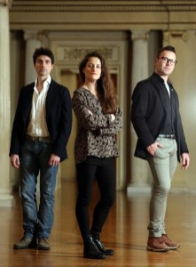 Matteo Gavazzi, Stefania Ballone and Marco Messina