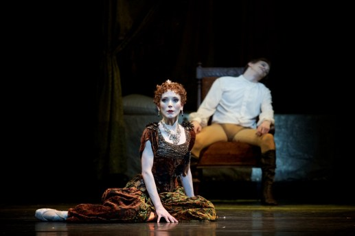 Mayerling. Sarah Lamb as Marie Larisch and Edward Watson as Crown Prince Rudolf. c ROH, 2017. Photographed by Alice Pennefather. (4)